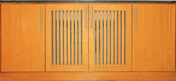 Free Top Counter And Wooden Doors Stock Image - 27473221
