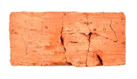 Top Of Cracked Brick Stock Photo