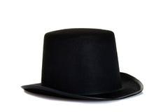 top czarnego kapelusza Zdjęcie Stock