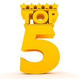 Top5. Royalty Free Stock Images