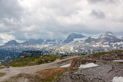 On Top of Dachstein Royalty Free Stock Photography