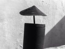 Top de chimenea foto de archivo