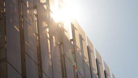 Top de edificio de oficinas metrajes