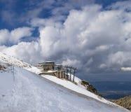 Top de Kasprowy de la montaña Fotos de archivo