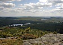 Top de la colina Imagen de archivo libre de regalías