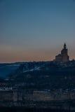 Top de la colina Imagenes de archivo