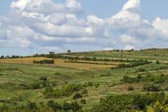 Top de la colina verde Imagen de archivo libre de regalías
