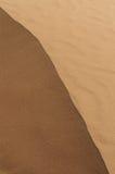 Top de la duna de arena Imágenes de archivo libres de regalías