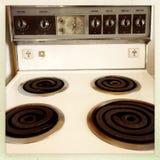 Top de la estufa Fotos de archivo