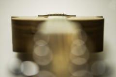 Top de la guitarra acústica Imagen de archivo