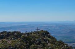 Top de la montaña Imagen de archivo libre de regalías