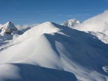 Top de la montaña Fotos de archivo libres de regalías