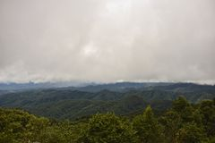 Top de la montaña Fotografía de archivo libre de regalías
