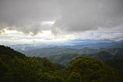 Top de la montaña Foto de archivo