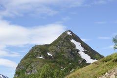 Top de la montaña Foto de archivo libre de regalías