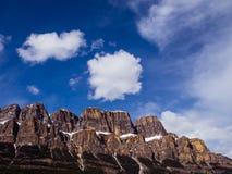 Top de la montaña del castillo Imagen de archivo libre de regalías