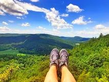 Top de la montaña del rastro del Mohawk Fotografía de archivo libre de regalías