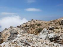 Top de la montaña en Marbella España Fotos de archivo libres de regalías