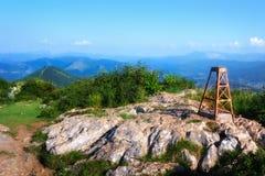 Top de la montaña de Pagasarri Fotografía de archivo libre de regalías