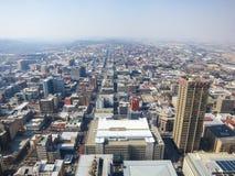 Top de la opinión de África, Johannesburgo, Suráfrica fotos de archivo