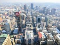 Top de la opinión de África, Johannesburgo, Suráfrica foto de archivo libre de regalías
