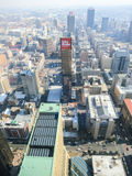 Top de la opinión de África, Johannesburgo, Suráfrica imagen de archivo