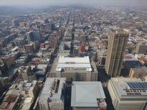 Top de la opinión de África, Johannesburgo, Suráfrica imagenes de archivo