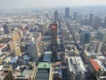 Top de la opinión de África, Johannesburgo, Suráfrica imágenes de archivo libres de regalías