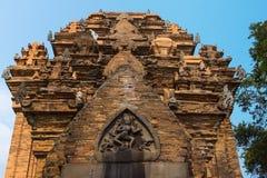 Top de la torre principal de Cham en el santuario del Po N'gar. imagen de archivo libre de regalías
