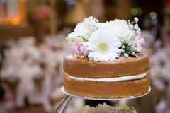 Top de la torta rústica Imagenes de archivo