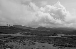 Top de las montañas de Bucegi Imagenes de archivo