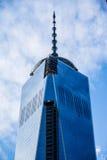 Top de los 2 World Trade Center Imágenes de archivo libres de regalías