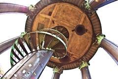 Top de Miguel, iglesia escénica en Hamburgo foto de archivo libre de regalías