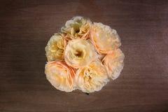 Top de rosas amarillas Fotos de archivo