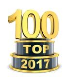Top 100 del año Imágenes de archivo libres de regalías
