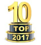 Top 10 del año Fotografía de archivo libre de regalías