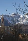 Iglesia en Belluno Foto de archivo