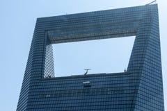Top del centro de Financal del mundo de Shangai Imagen de archivo libre de regalías