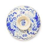 Top del cuenco chino de la porcelana Fotografía de archivo