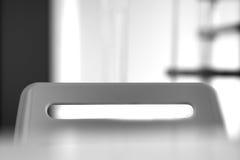 Top del fondo de la silla de la oficina Imagen de archivo