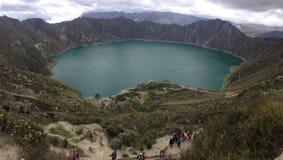 Top del lago Fotos de archivo