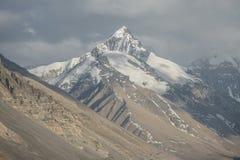 Top del mundo, Mt Everest Foto de archivo