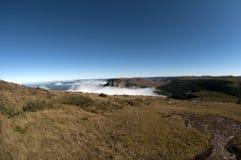Top del mundo, Santa Catarina - el Brasil Foto de archivo