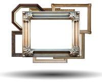 TOP del oro en el podio Foto de archivo libre de regalías