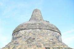 Top del templo Borobudur Imagen de archivo libre de regalías