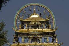 Top del templo budista Foto de archivo