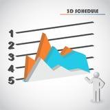 Top diagram vector Stock Image