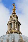 Top of Dome of St. Paul´s Cathedral Royalty Free Stock Images