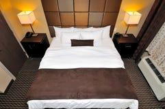Top down of big bedroom Stock Images