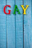 Top down photo of Gay Pride concept royalty free stock image